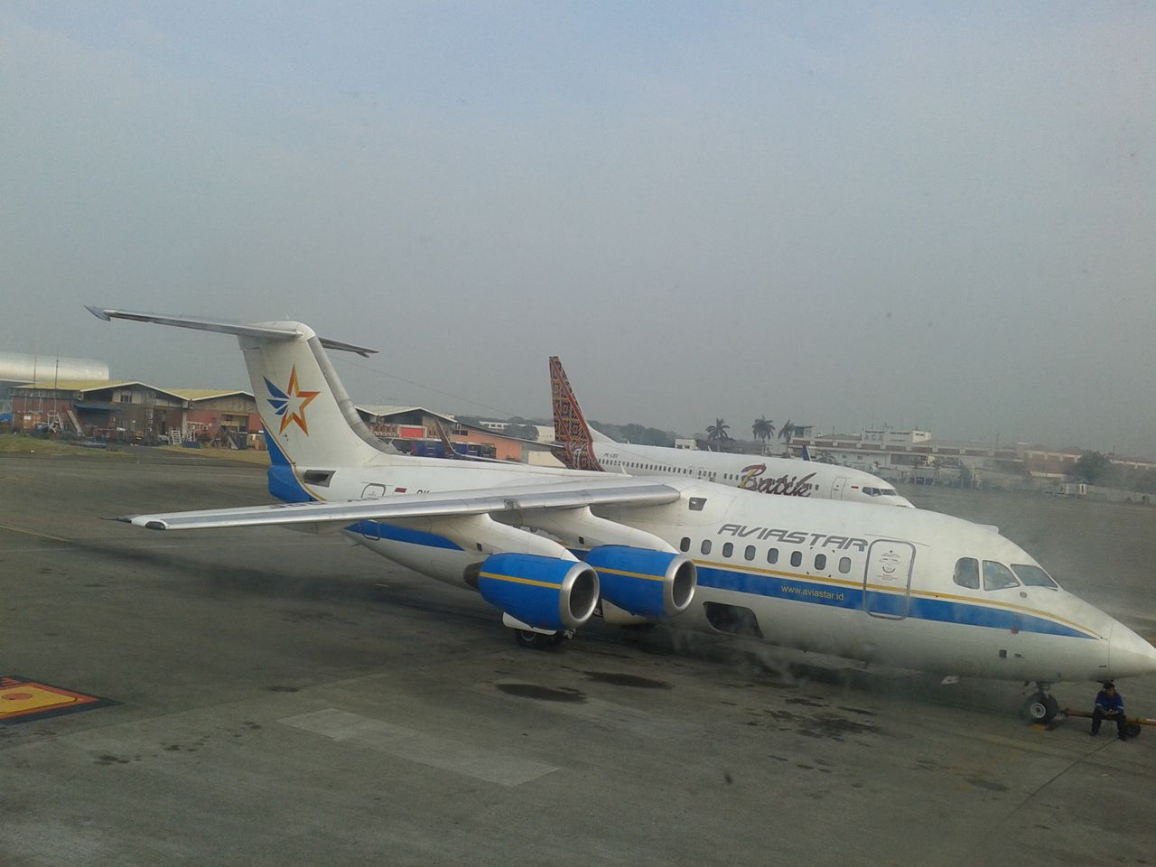 Review of Citilink Indonesia flight from Jakarta to Ketaping in