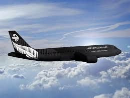 photo air new zealand plane
