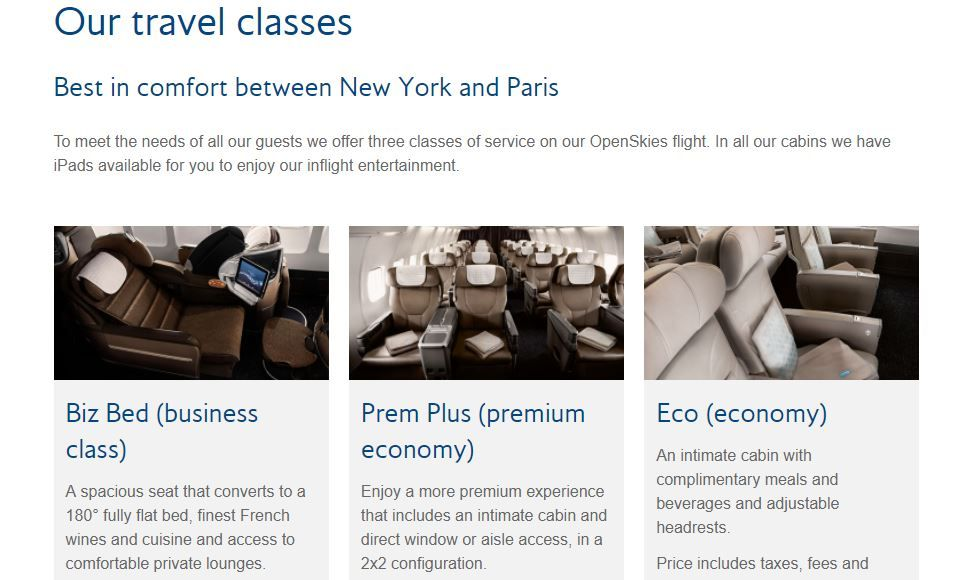 photo ba openskies products page