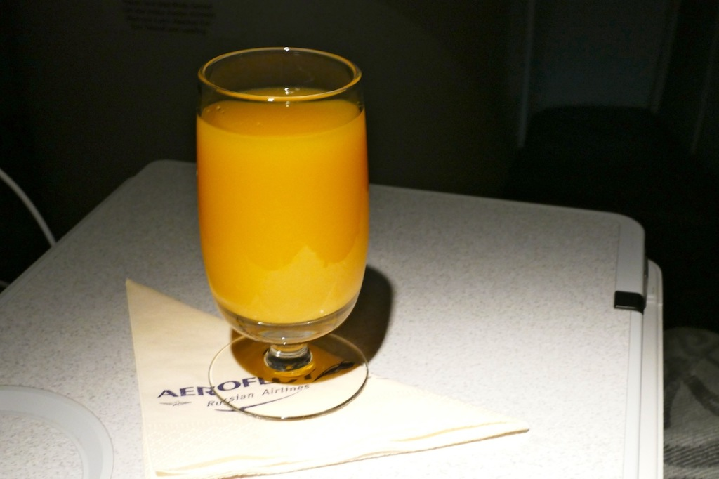 Review of aeroflot flight from moscow to shanghai in business - J ai bien dormi ...