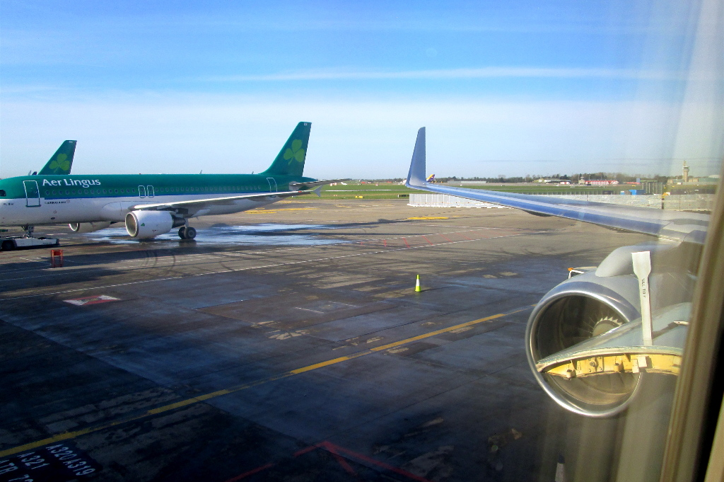 Review of American Airlines flight from Dublin to Philadelphia in ...